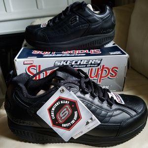 SKECHERS SHAPE-UPS WORK SAFETY SNEAKERS